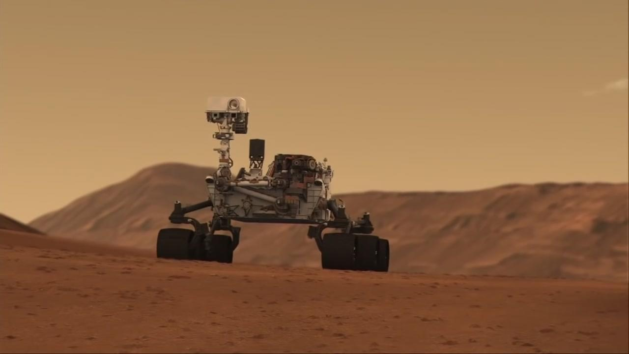 Mars rover sings Happy Birthday to itself