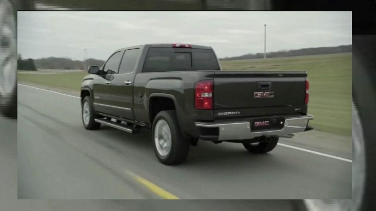 GM recalling certain Chevy Silverado 1500 and GMA Sierra 1500 pick-up trucks.