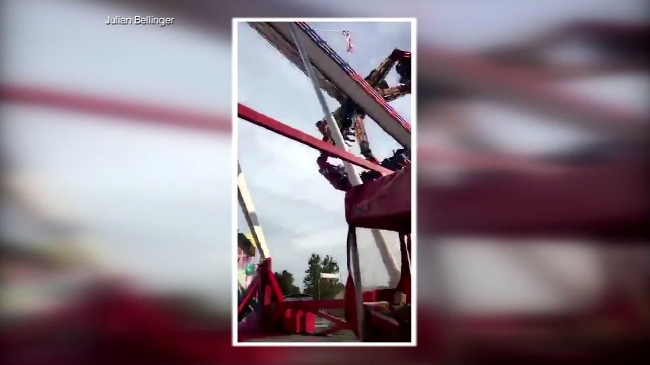 Manufacturer says corrosion caused Ohio State Fair ride to break apart
