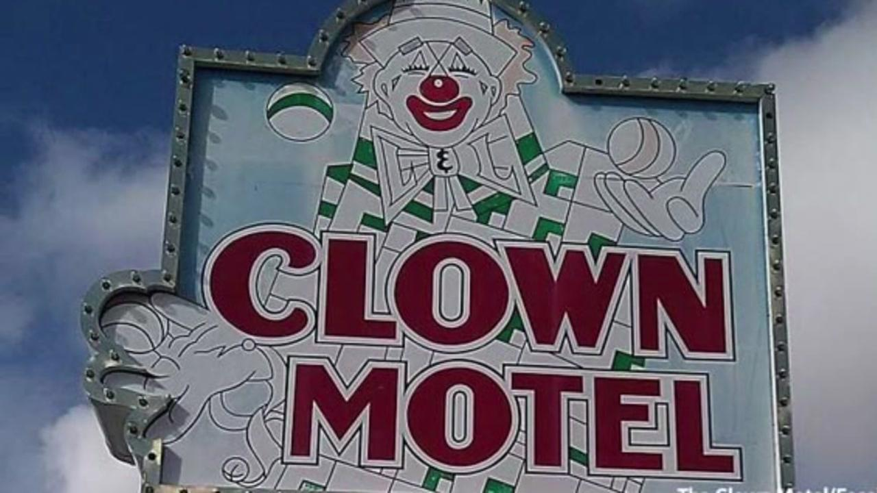 Possibly haunted Clown Motel for sale in Nevada