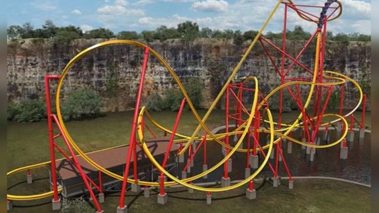 first-ever Wonder Woman roller coaster