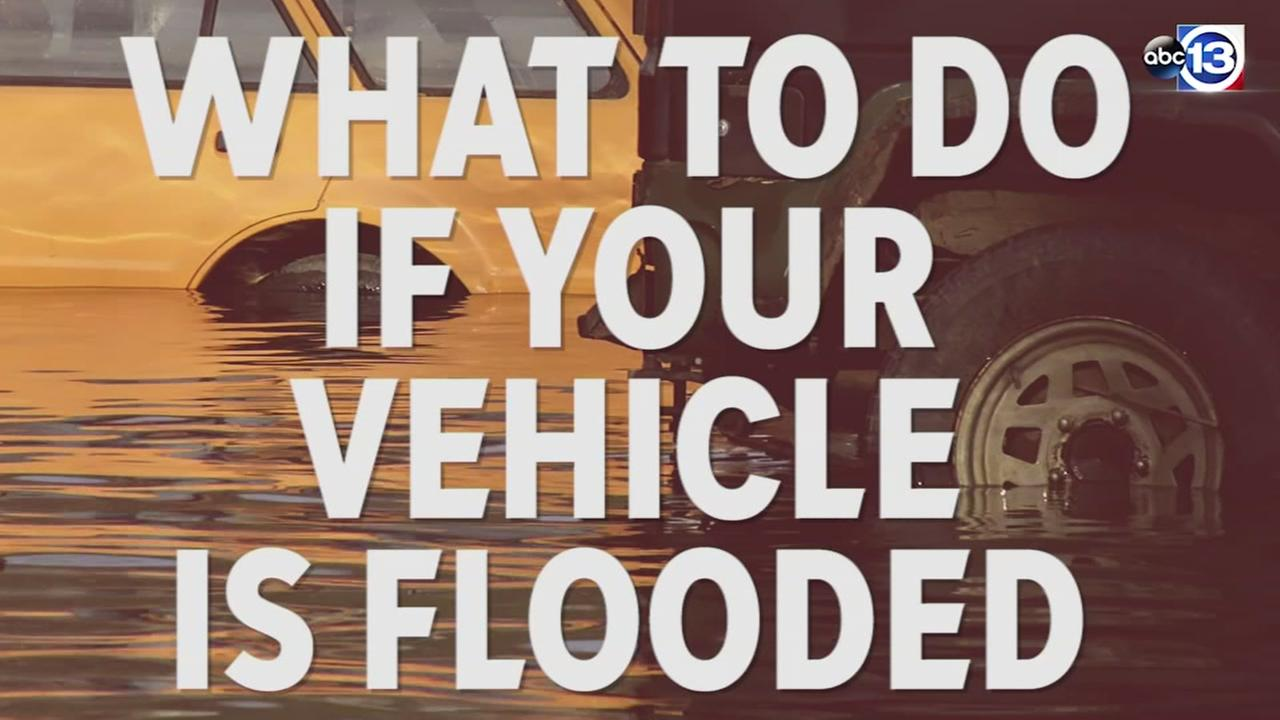 What to do if your vehicle is flooded