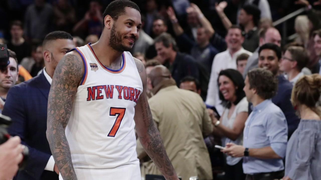 Sources: Knicks, Rockets re-engage in Carmelo Anthony trade talks
