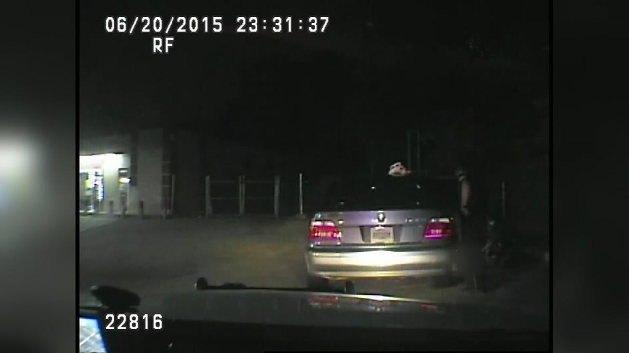 Dashcam released in controversial strip search