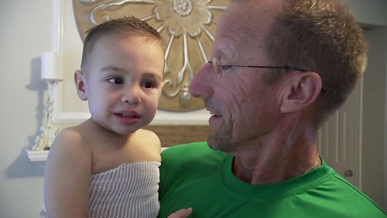 Man donating kidney to 1-year-old grandson