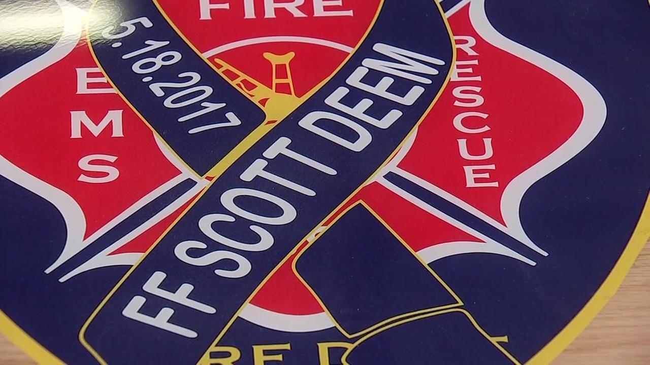 HFD firefighter honors fallen San Antonio colleague