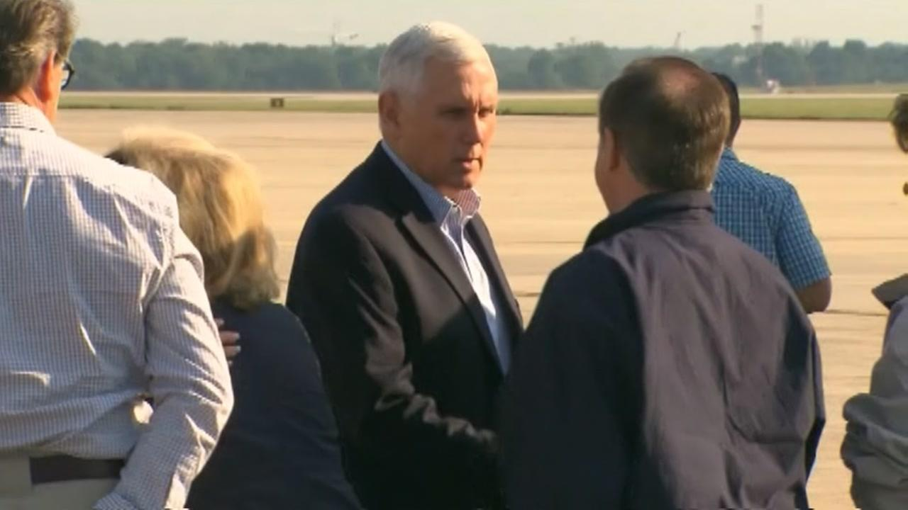 Mike Pence on his way to Texas to survey Harvey damage