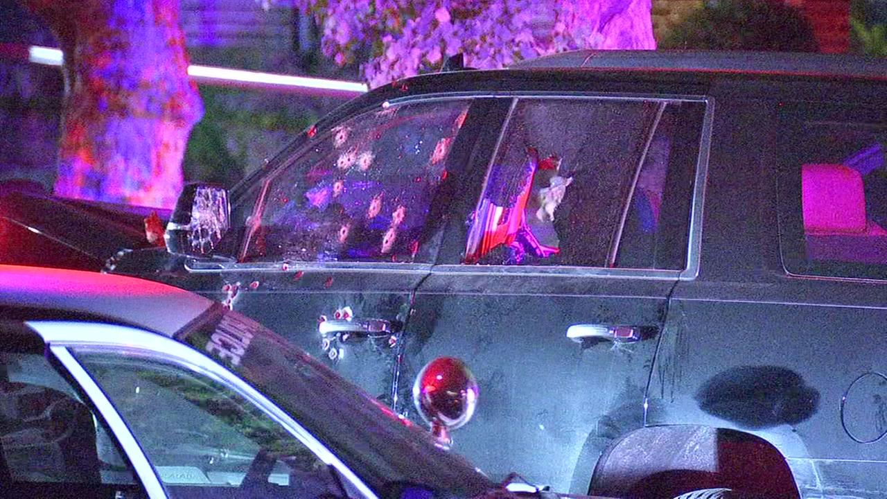 Police chase ends in shooting