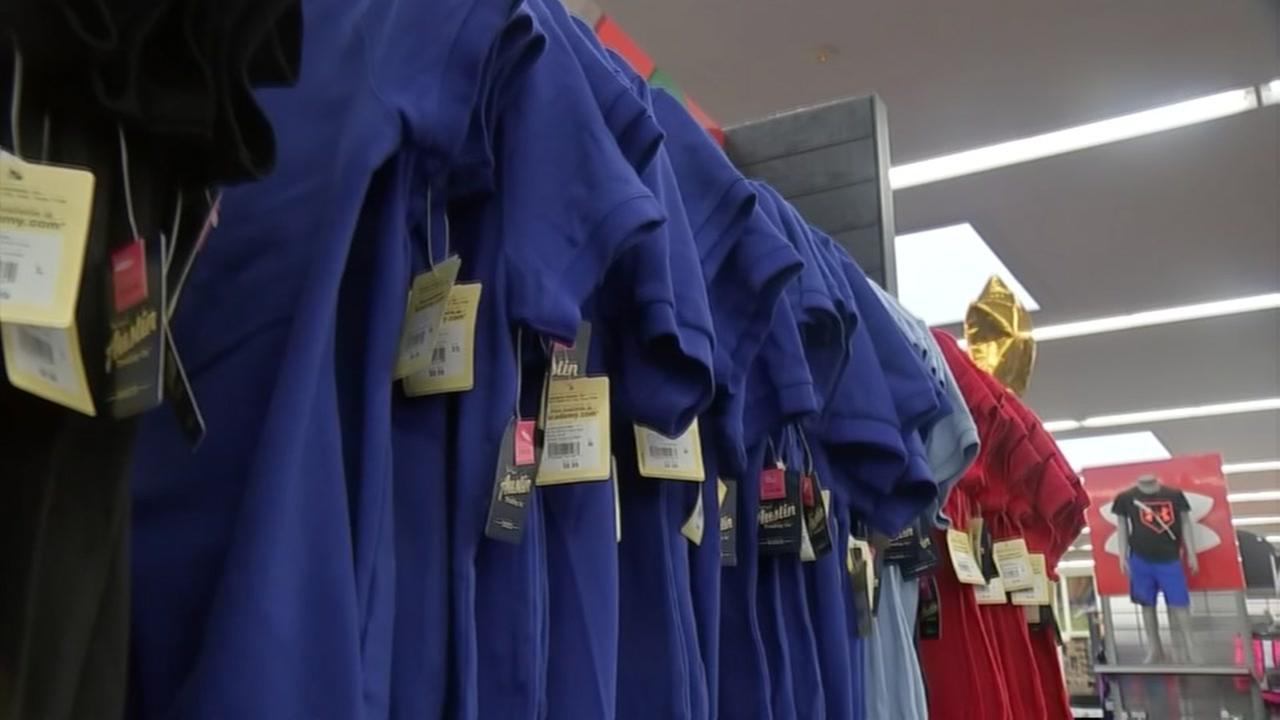 HISD giving away free uniforms