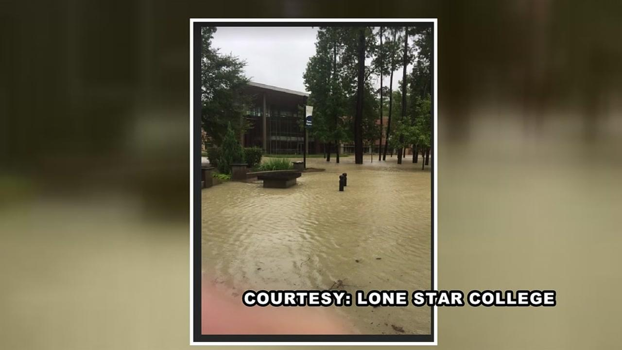 The price tag for flood damage is topping 10 million dollars at Lone Star College in Kingwood.