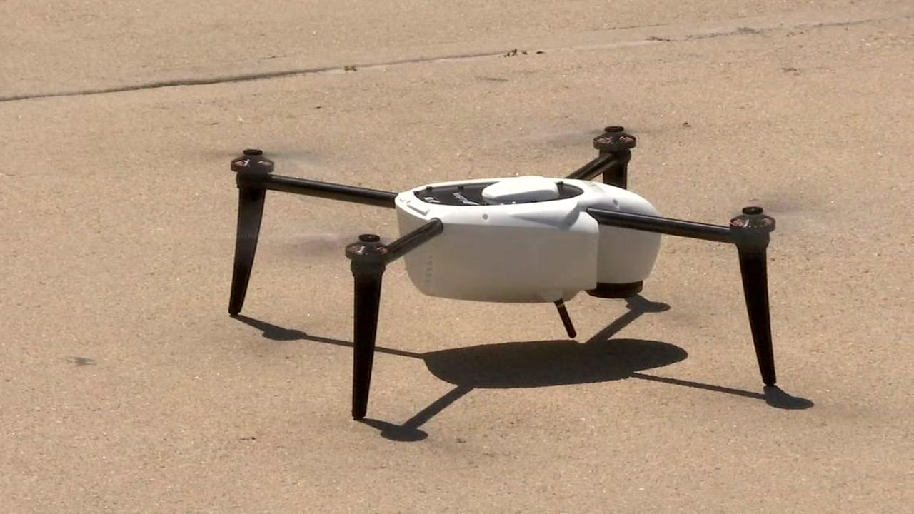 Insurance companies use drones, planes to survey damage