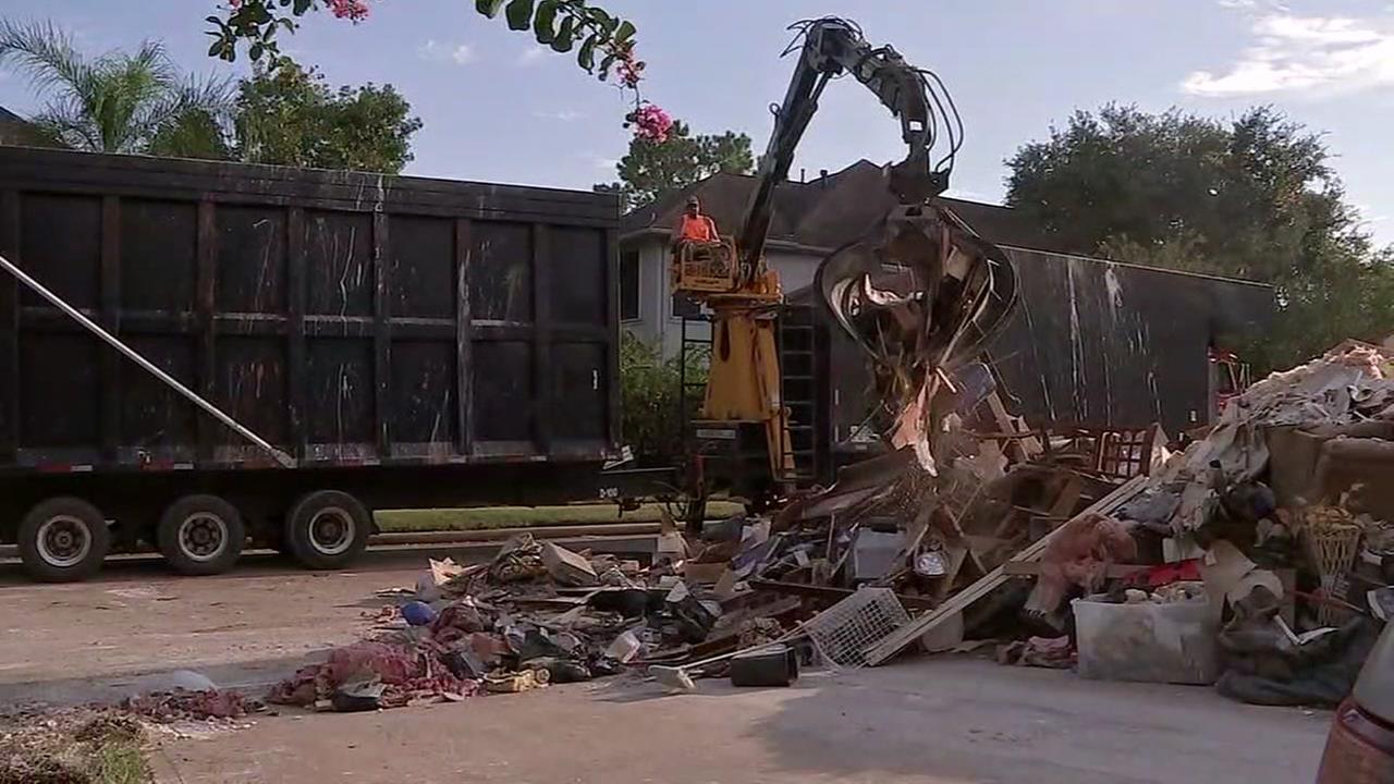 Contractor gives shocking prediction about Harvey debris