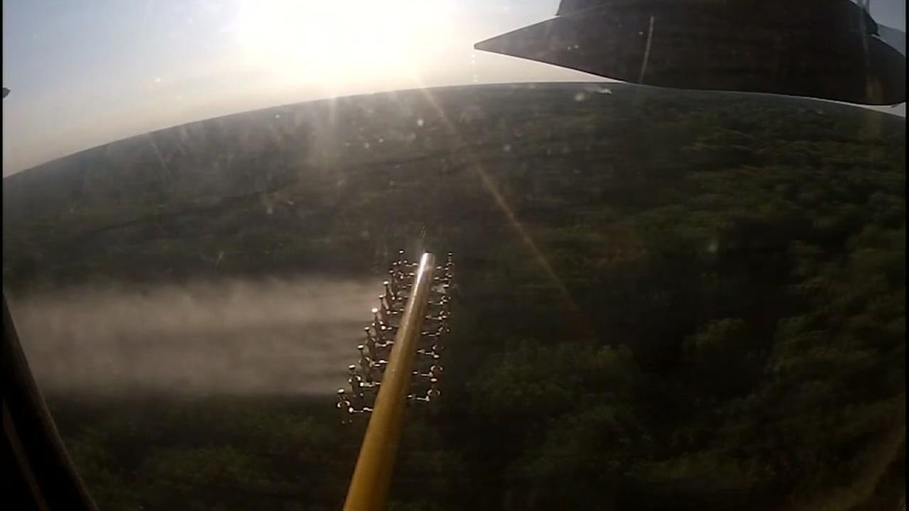 Mosquito spraying kicks off