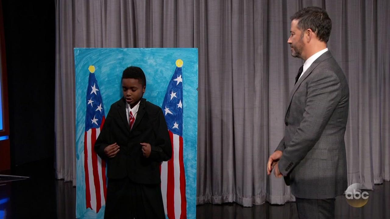 Young Houston actor makes TV debut on Jimmy Kimmel Live