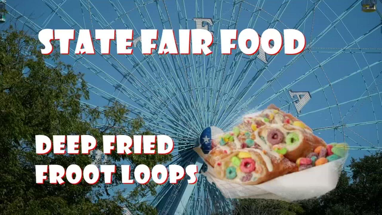 Deep fried froot loops and the tamale donut are just two of the new foods at the State Fair this year