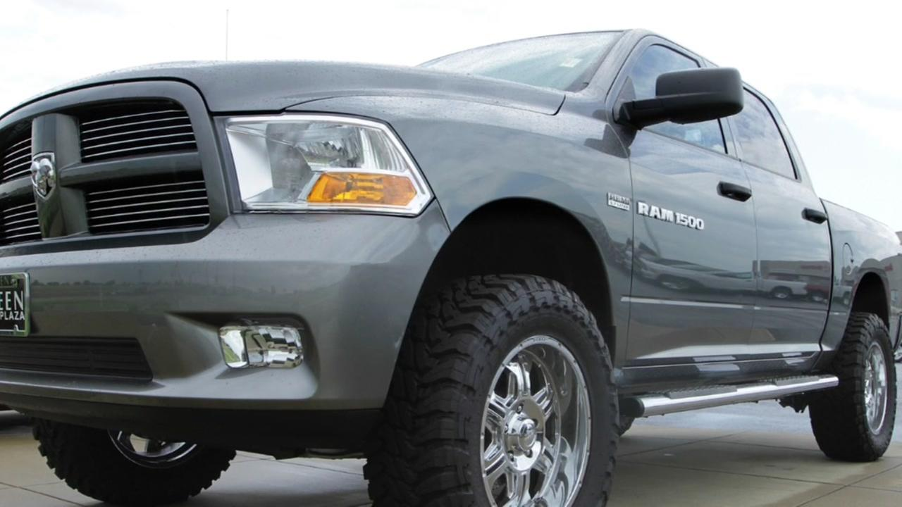 Recall: Dodge Ram trucks could erupt in flames