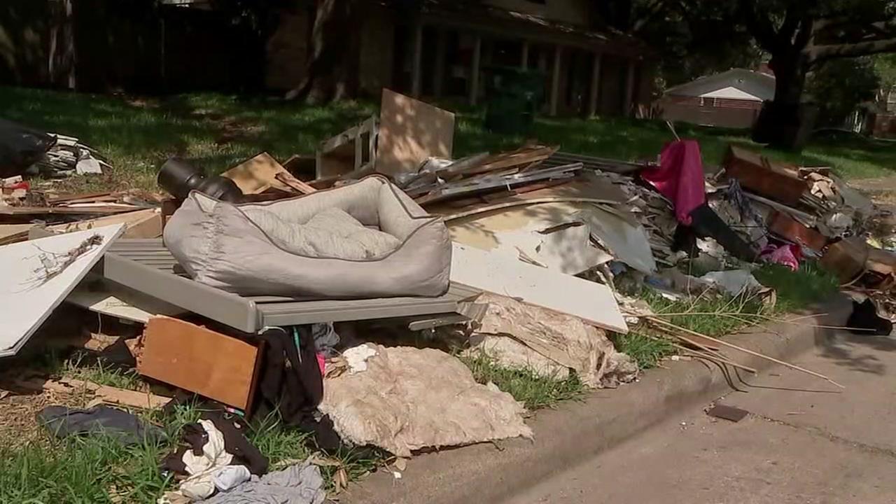 Homes up for sale in Meyerland post Hurricane Harvey
