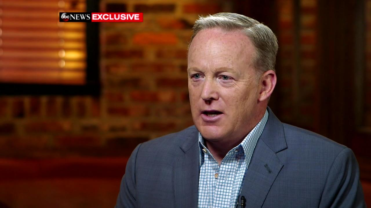 Sean Spicers exclusive interview on Good Morning America