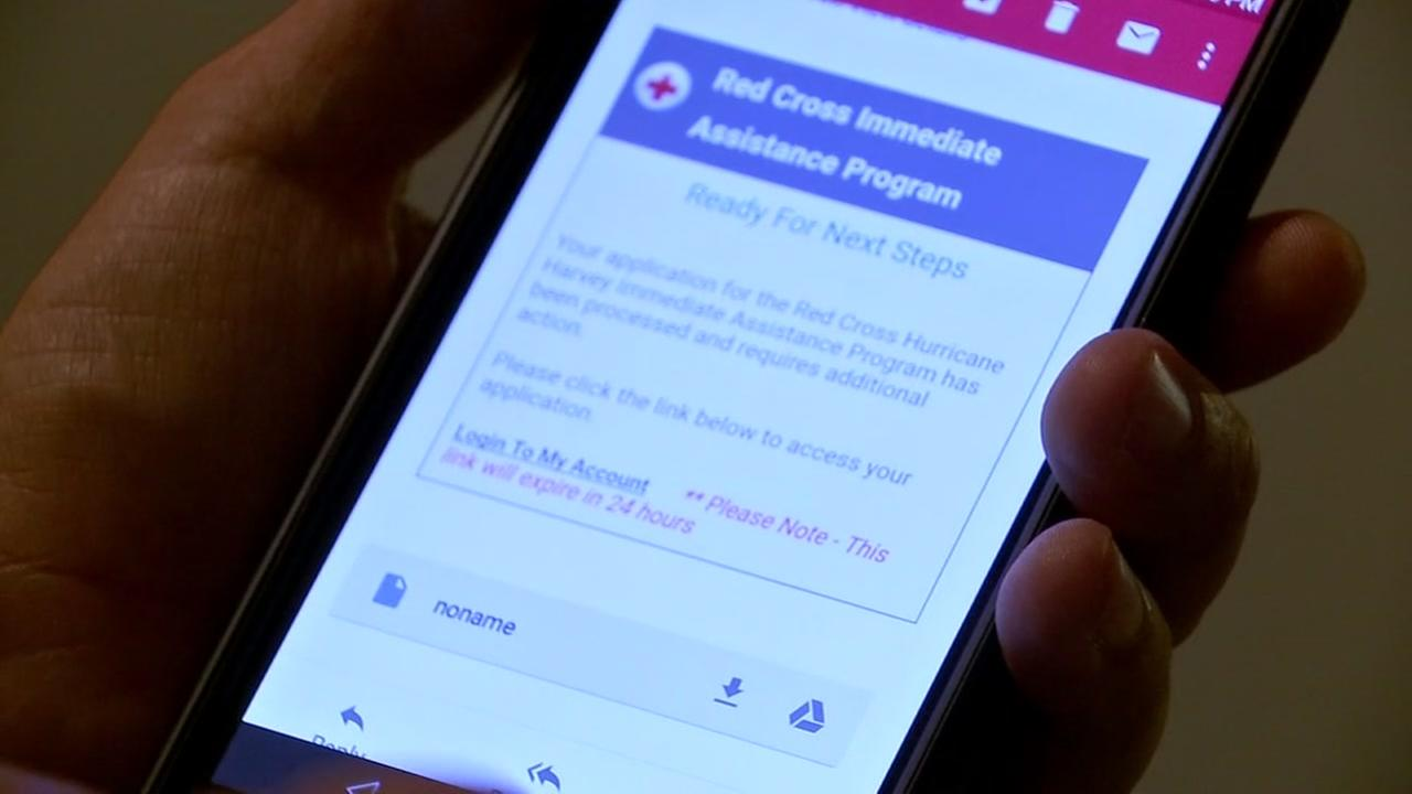 Houstonians frustrated after Red Cross denies assistance