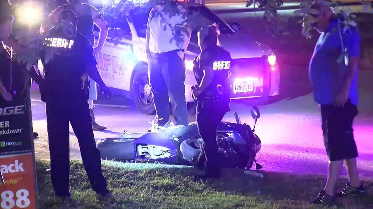 Deputy hurt in hit-and-run crash