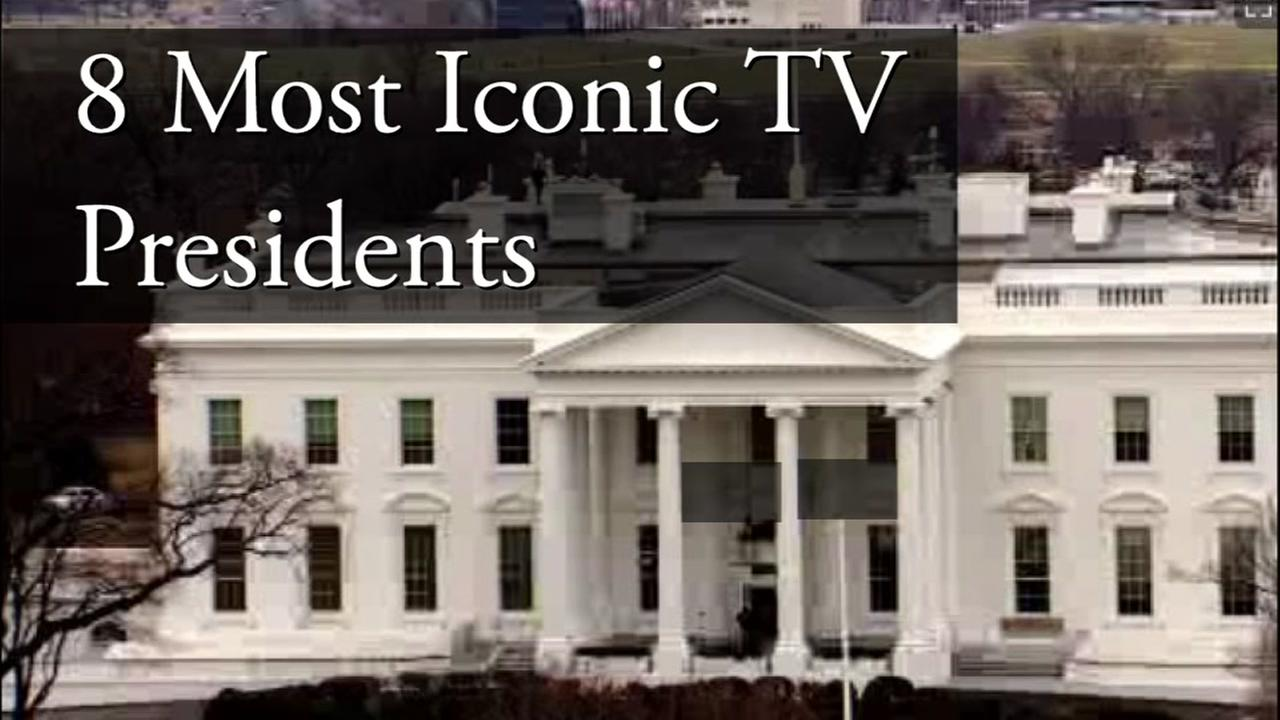 A look at the most iconic presidents on TV