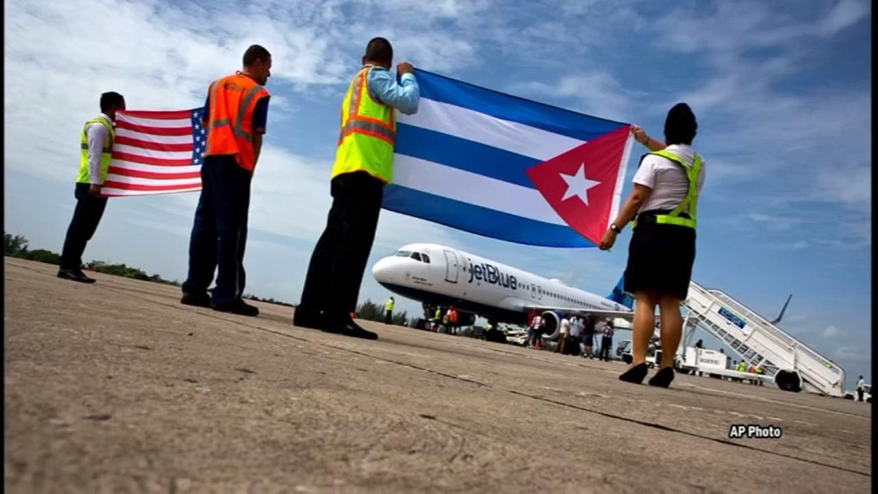 US cuts embassy staff, urges no travel to Cuba