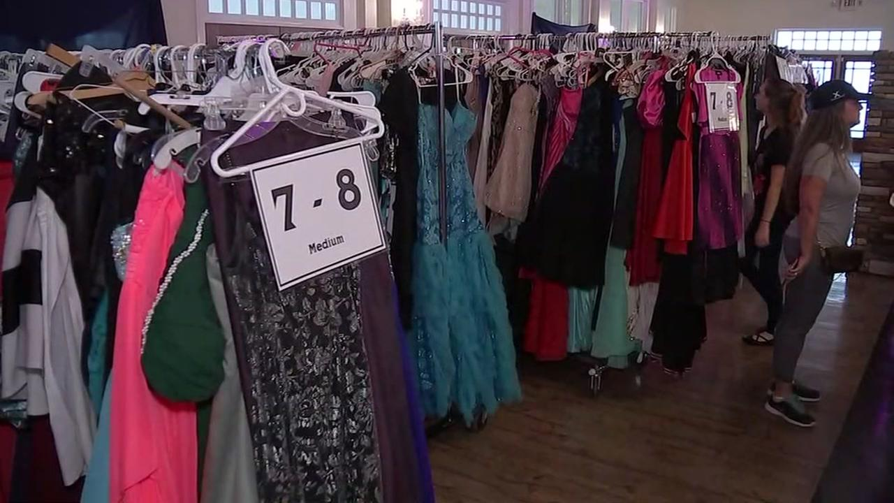 Homecoming dress drive helps Harvey victims