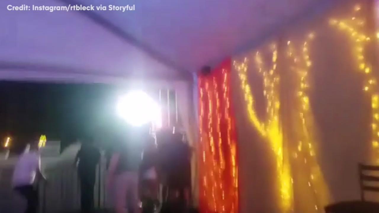 Eyewitness video from Las Vegas scene