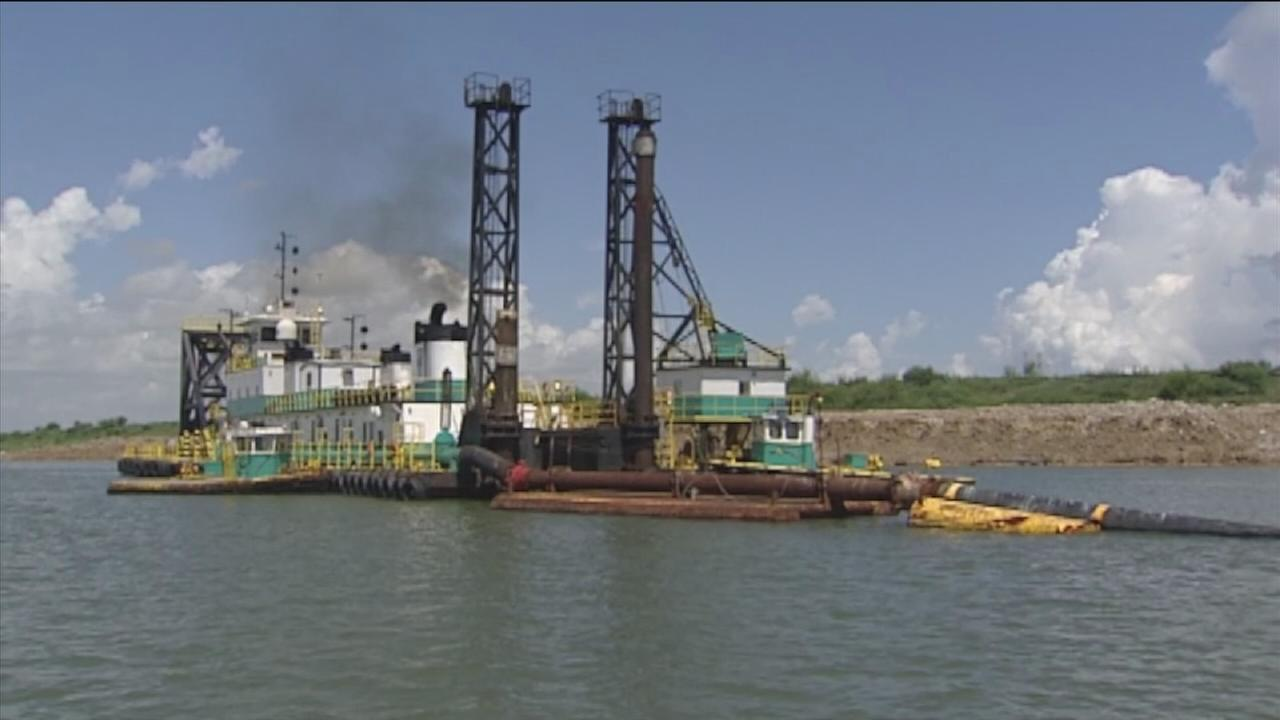 Massive construction project begins at Port of Houston