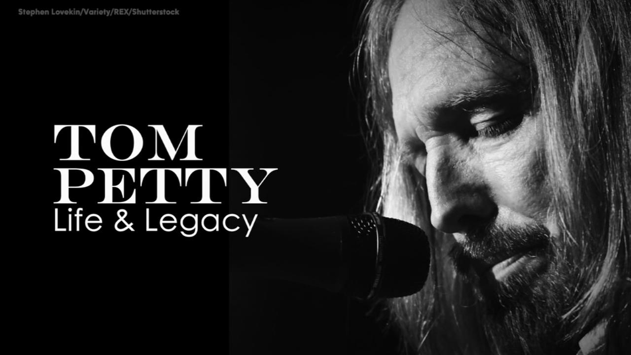 Legendary musician Tom Petty dies at 66