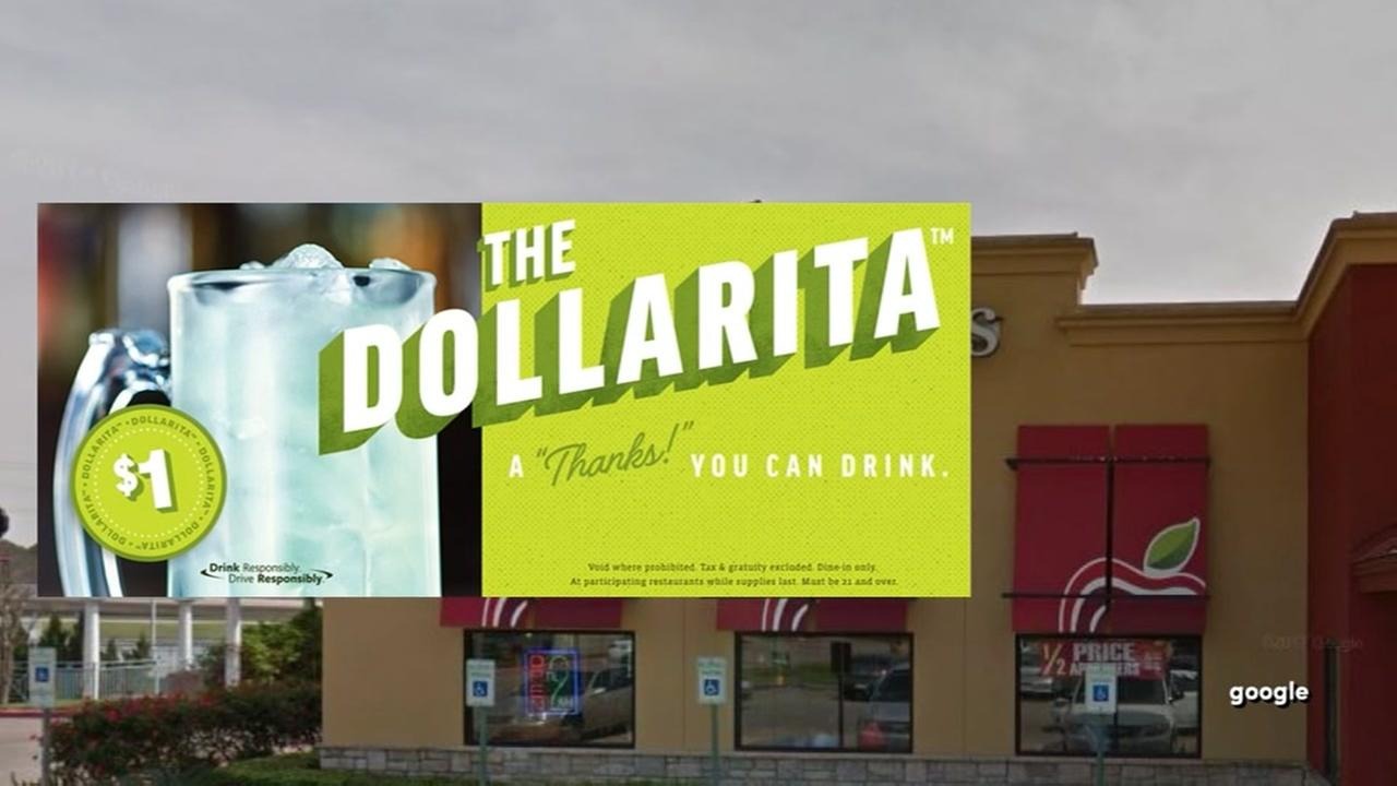 Applebees offers one dollar margaritas during October
