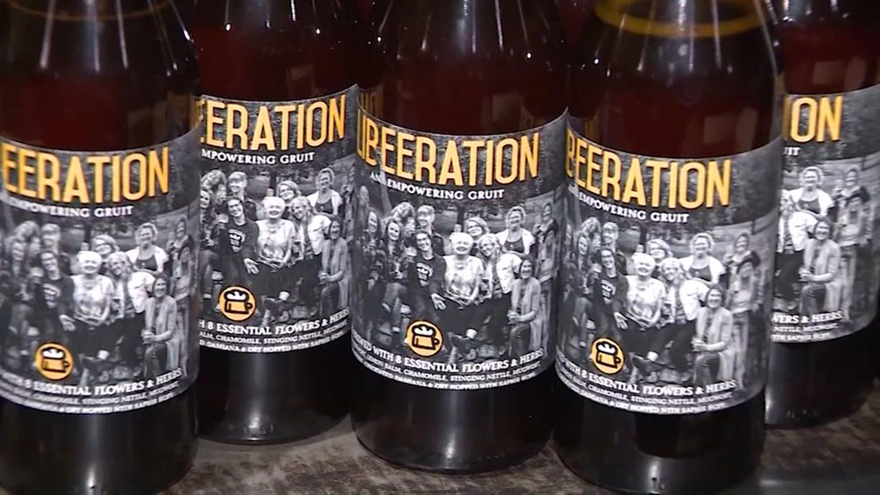 Beer promises to ease menopause symptoms