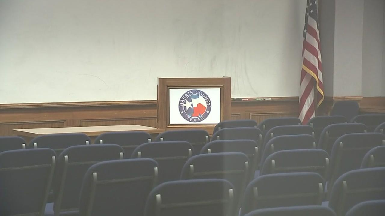 A look inside Harris Co.s jury assembly room