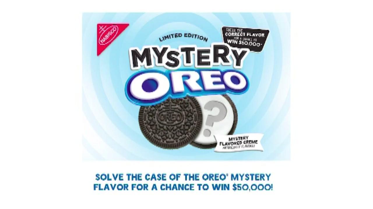 Oreo mystery flavor