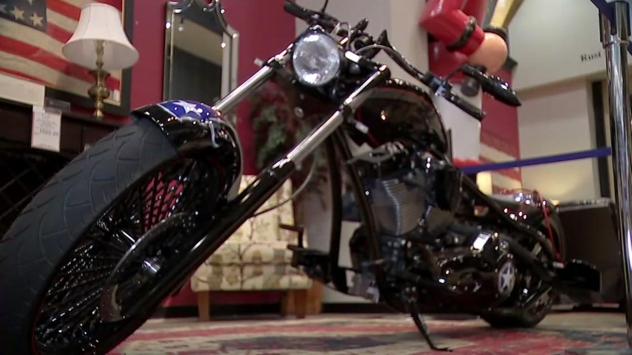 Texas Strong bike to be auctioned to help Harvey relief