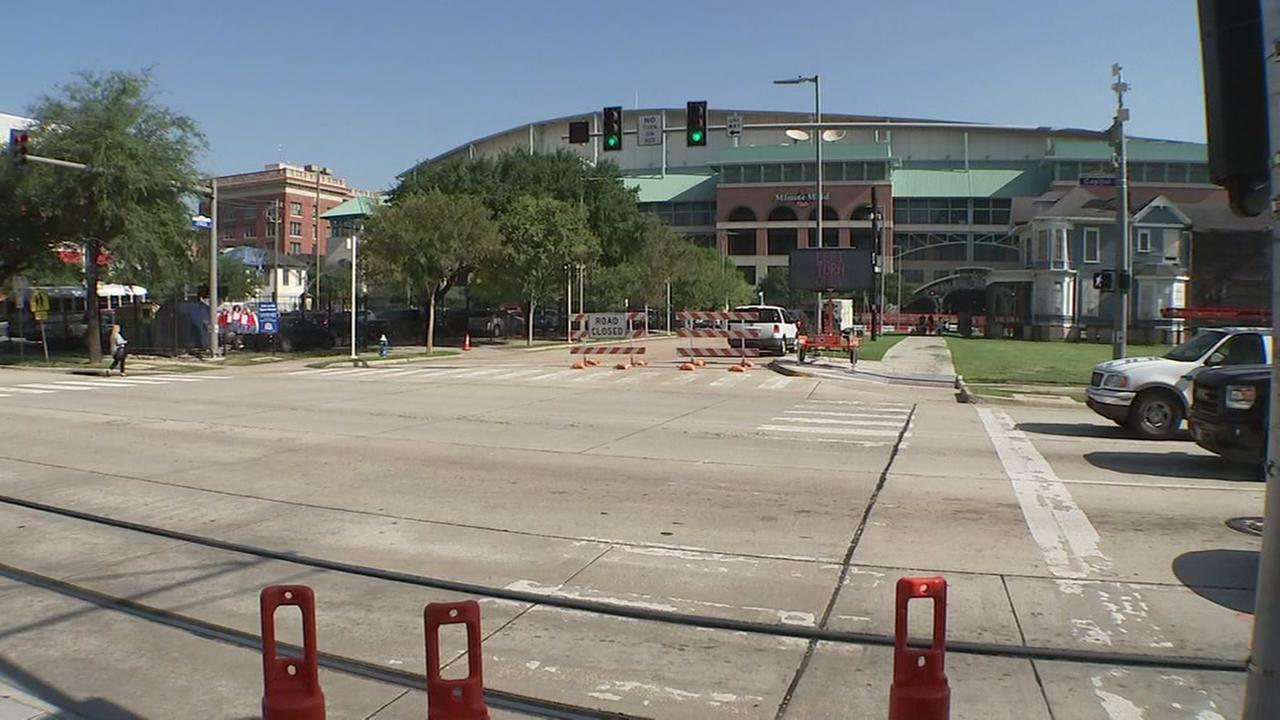 Getting around downtown Houston will be extra tricky