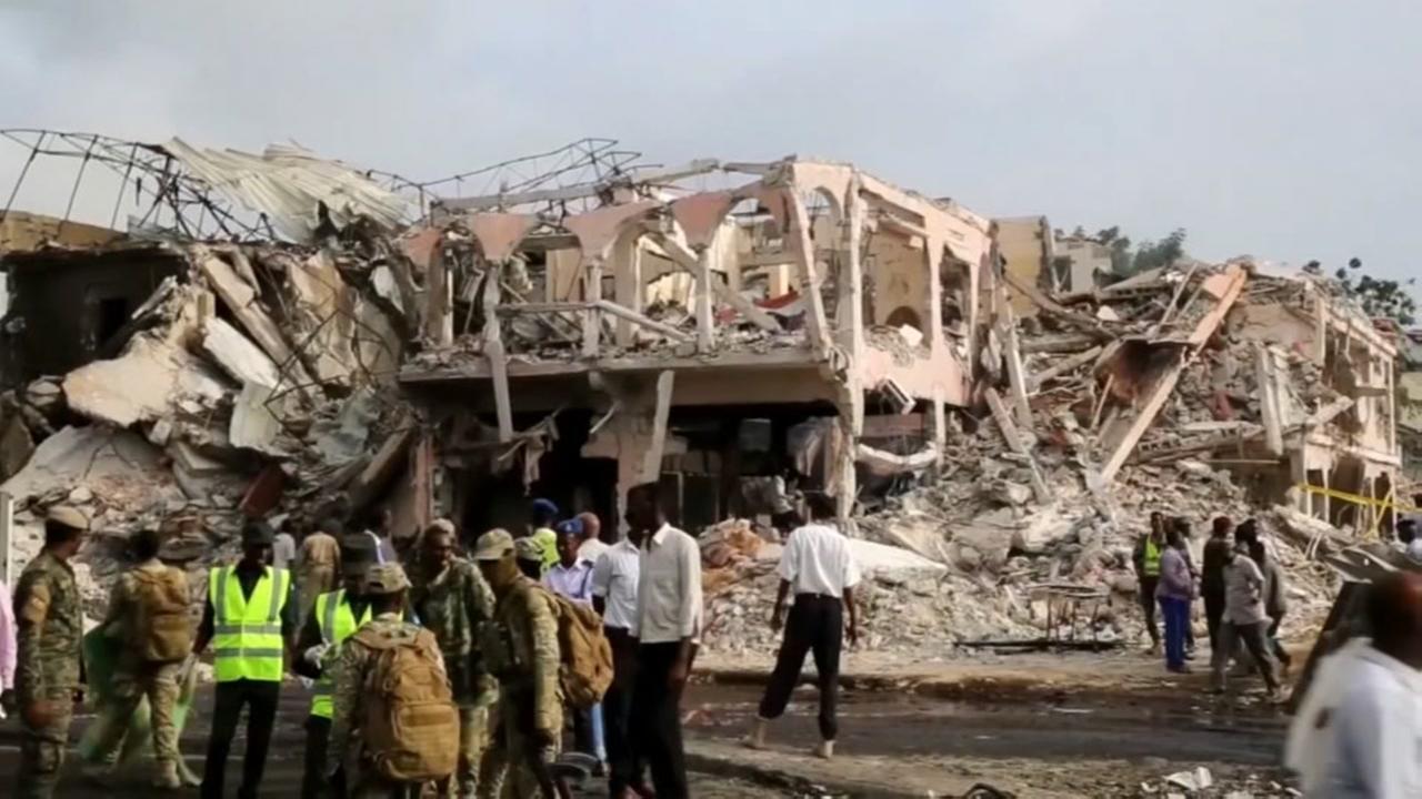 189 killed in violent truck bombing in Somalia