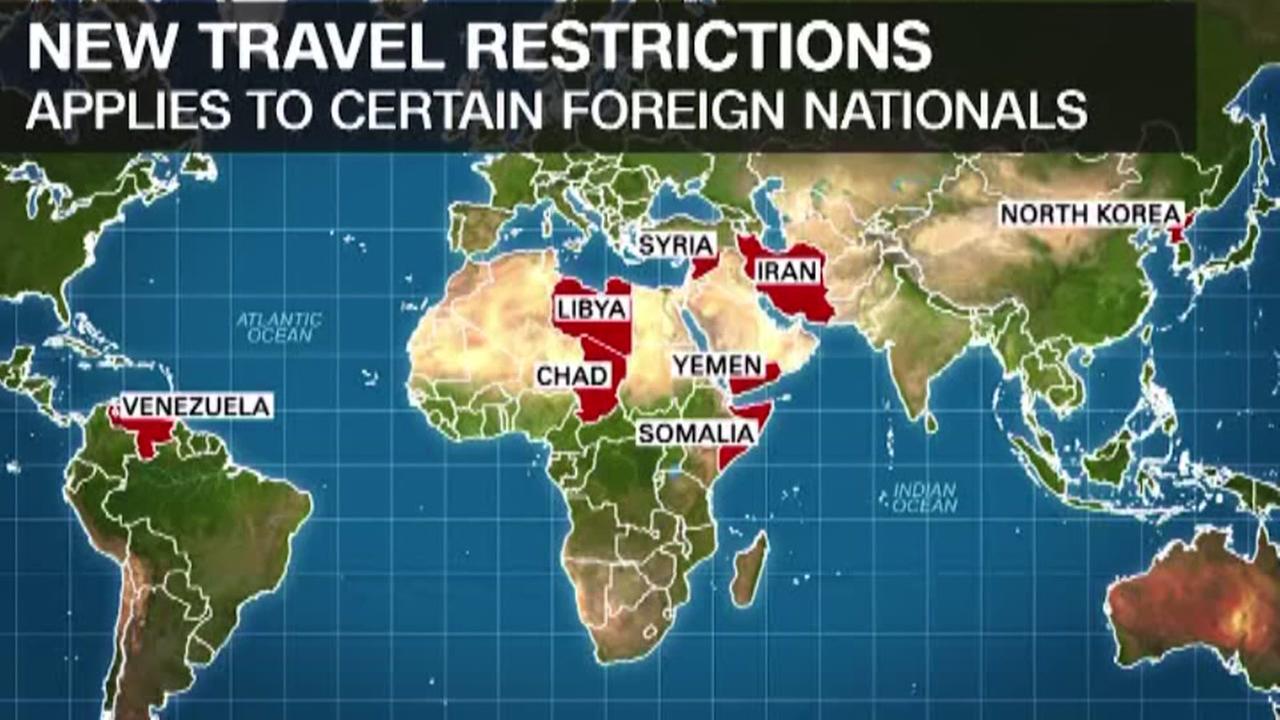Judge strikes down latest travel ban