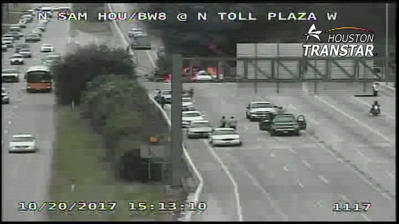 1 dead after car fire on North BW8