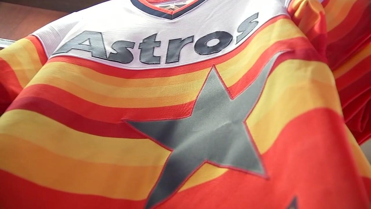 Story behind the iconic Astros rainbow jersey