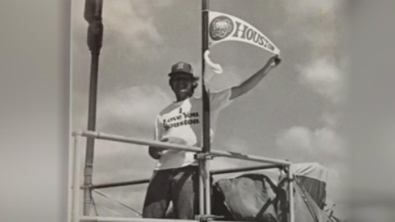 Astroman lived atop Astrodome for 10 days in 1980