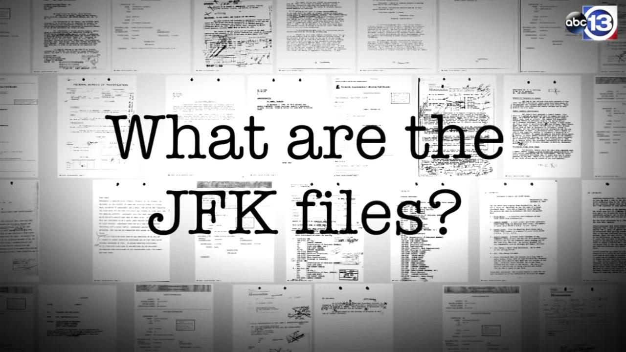 What are the JFK files? 1992 law required documents release