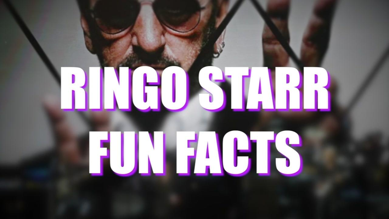 Fun facts about Ringo Starr