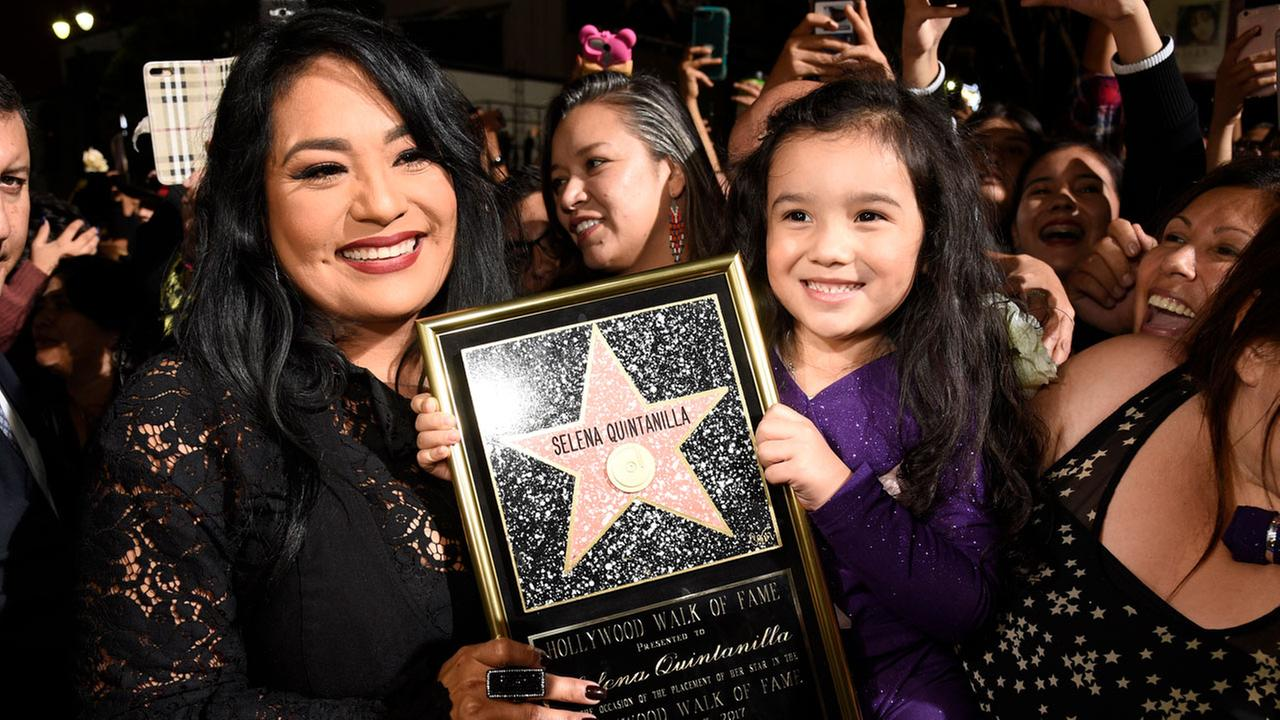 Selena Quintanilla gets star on Hollywood Walk of Fame