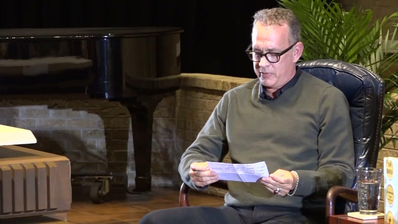 Tom Hanks plays big role in couples surprise proposal