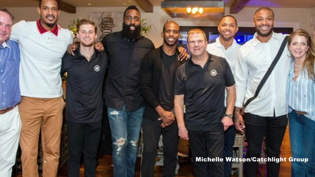 Houston Rockets show up in force at Tillmans gala for law enforcement