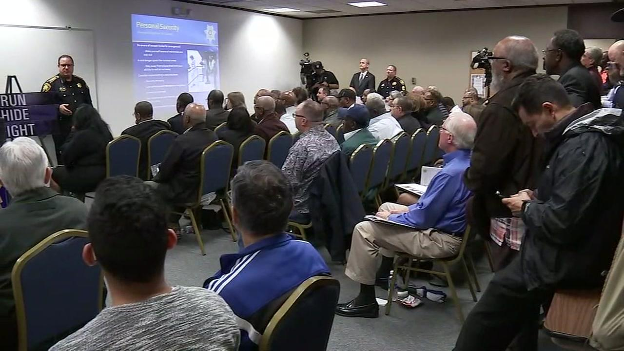 Religious leaders learn how to protect their congregation