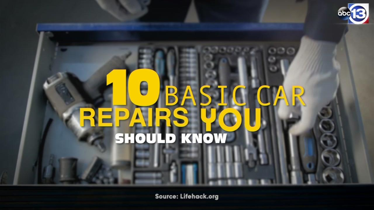 10 basic car repairs you should know