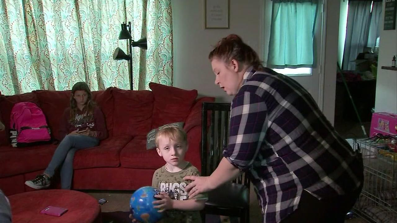 Mom says worker spanked her son
