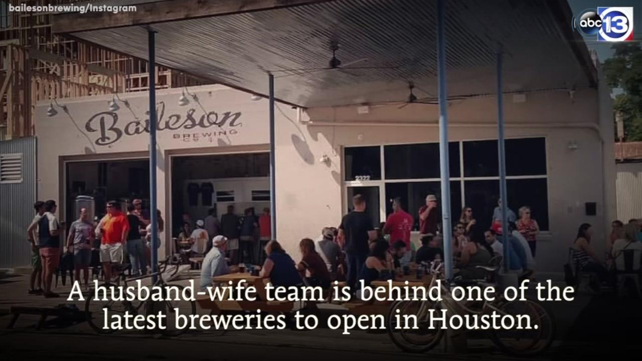 Full-time working couple serves craft brew out of old service station